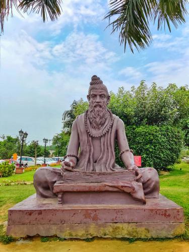 Monuments,At,Haridwar,In,Patanjali